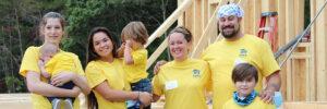 habitat family volunteers